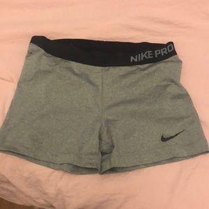 Nike pro women's spandex